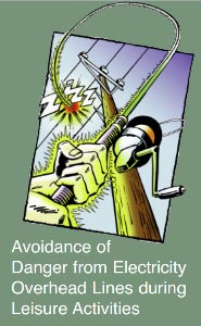 Avoidance of Danger from Electricity Overhead Lines during Leisure Activities