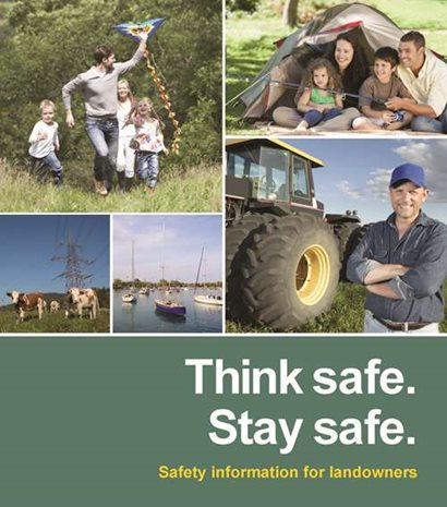 Think safe, stay safe - Safety information for landowners